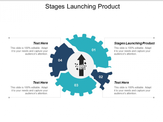 Stages Launching Product Ppt PowerPoint Presentation Portfolio Shapes Cpb