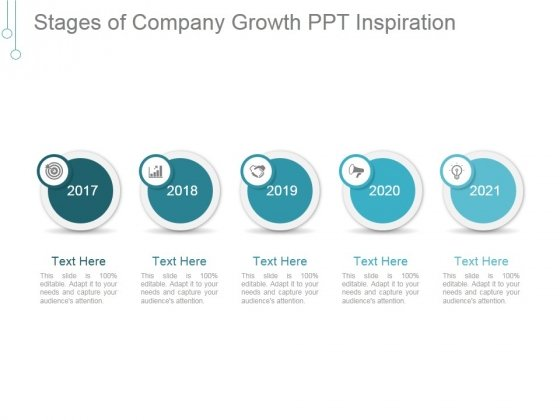 Stages Of Company Growth Ppt PowerPoint Presentation Gallery