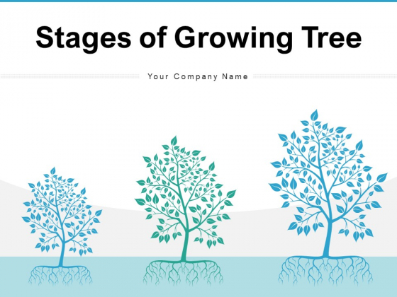 Stages Of Growing Tree Growth Resources Ppt PowerPoint Presentation Complete Deck
