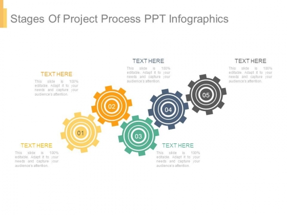 Stages Of Project Process Ppt Infographics