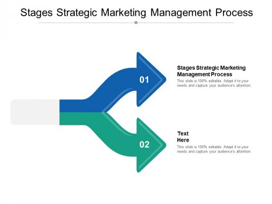 Stages Strategic Marketing Management Process Ppt PowerPoint Presentation File Designs Cpb