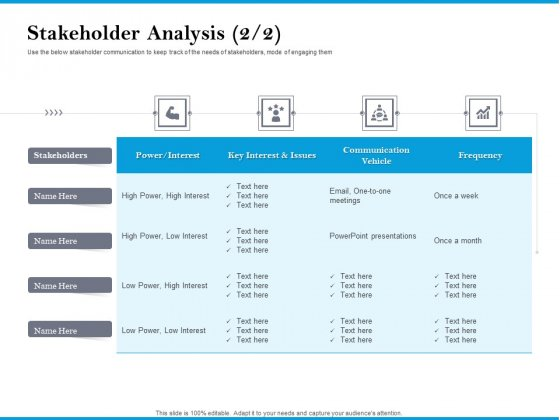Stakeholder_Analysis_Frequency_Customer_Retention_And_Engagement_Strategy_Demonstration_PDF_Slide_1