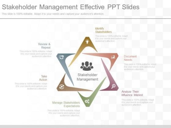 Stakeholder Management Effective Ppt Slides