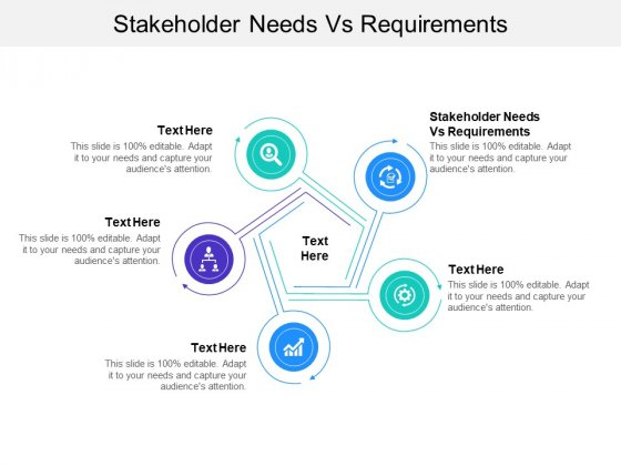 Stakeholder Needs Vs Requirements Ppt PowerPoint Presentation Infographic Template Design Ideas Cpb Pdf