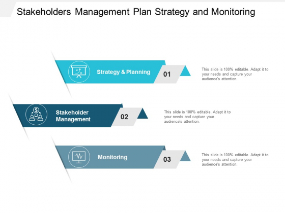 Stakeholders Management Plan Strategy And Monitoring Ppt Powerpoint Presentation Icon Format Ideas