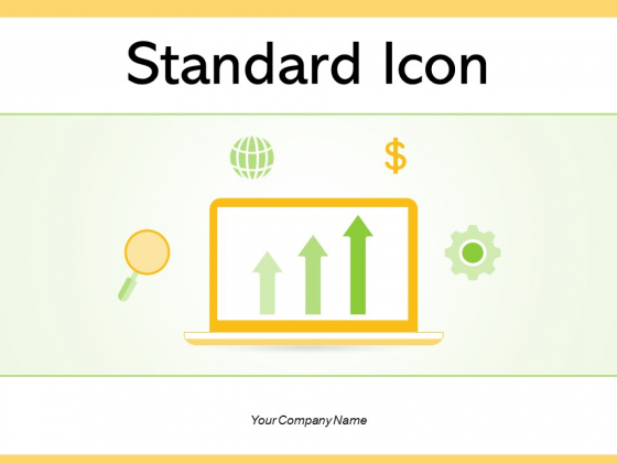Standard Icon Business Benchmarking Gear Ppt PowerPoint Presentation Complete Deck