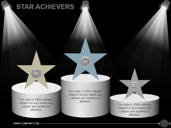 Star Achievers Ppt PowerPoint Presentation Shapes