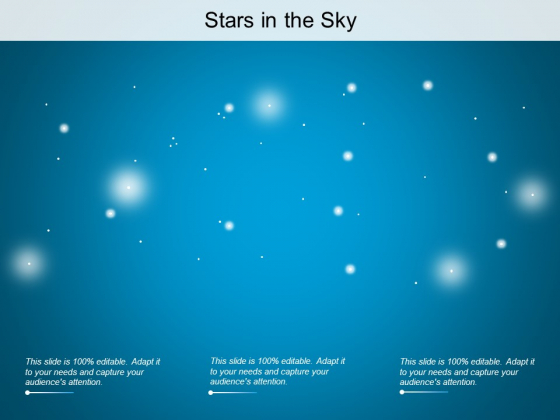 Stars In The Sky Ppt PowerPoint Presentation Summary Visuals