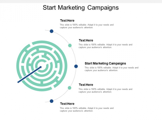 Start Marketing Campaigns Ppt PowerPoint Presentation Slides Shapes Cpb