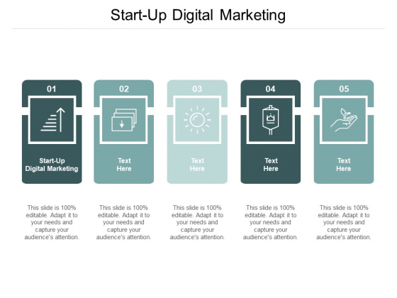 Start Up Digital Marketing Ppt PowerPoint Presentation Slides Cpb