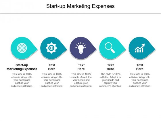 Start Up Marketing Expenses Ppt PowerPoint Presentation Pictures Background Images Cpb Pdf