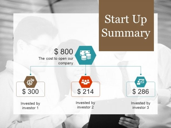 Start Up Summary Template 1 Ppt PowerPoint Presentation Professional Example File