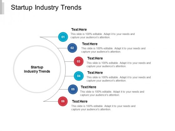 Startup Industry Trends Ppt PowerPoint Presentation Visual Aids Example File Cpb