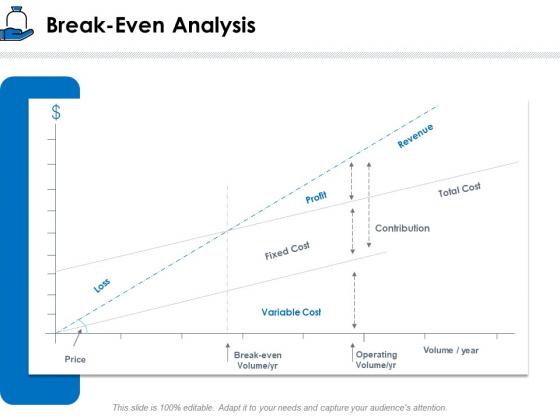 Startup Investment Ideas Break Even Analysis Ppt Model Topics PDF