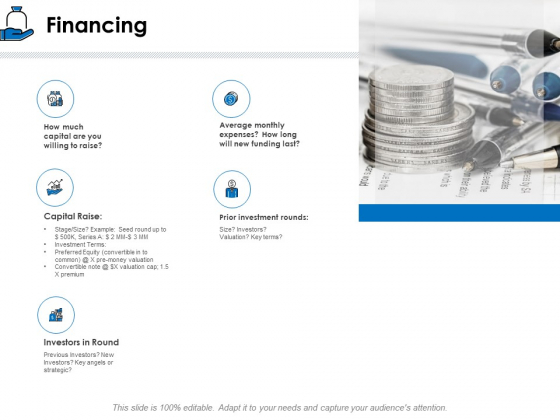 Startup Investment Ideas Financing Ppt Portfolio Pictures PDF