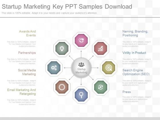Startup Marketing Key Ppt Samples Download