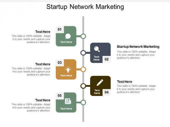 Startup Network Marketing Ppt PowerPoint Presentation Layouts Good Cpb