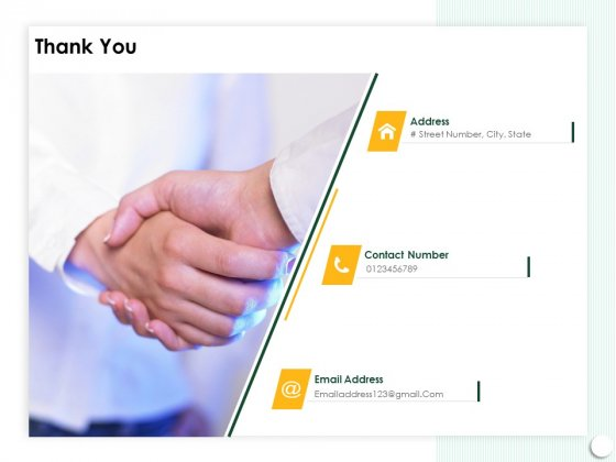 Startup Presentation For Collaborative Capital Funding Thank You Ppt PowerPoint Presentation Infographics Styles PDF