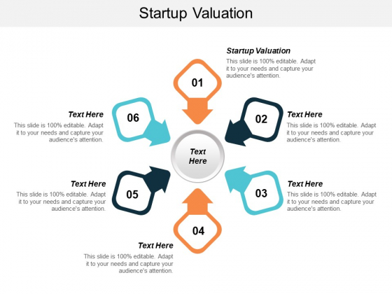 Startup Valuation Ppt PowerPoint Presentation Infographics Sample Cpb