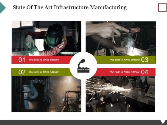 State Of The Art Infrastructure Manufacturing Ppt PowerPoint Presentation Styles Clipart Images