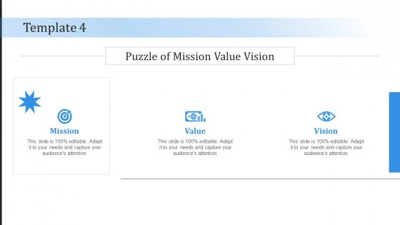 Statement Of Company Principles Statement Of Company Principles Template 4 Puzzle Ppt Icon Outfit PDF