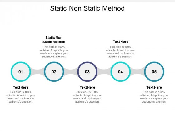 Static Non Static Method Ppt PowerPoint Presentation Outline Skills Cpb Pdf
