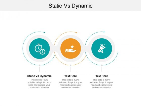 Static Vs Dynamic Ppt PowerPoint Presentation Infographics Graphic Images Cpb