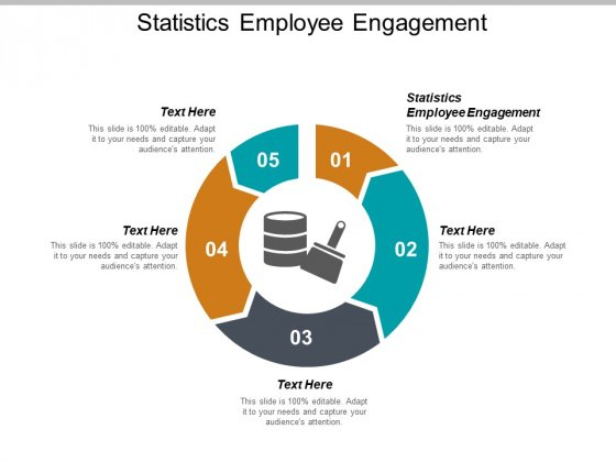 Statistics Employee Engagement Ppt PowerPoint Presentation Model Layouts Cpb