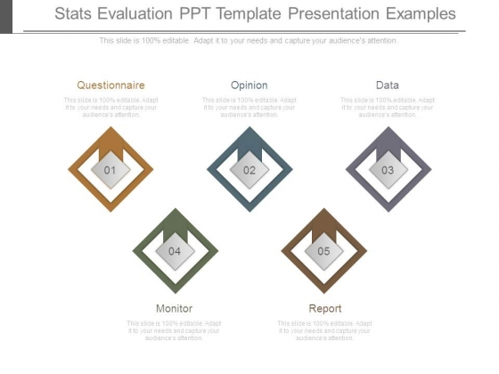 Stats Evaluation Ppt Template Presentation Examples