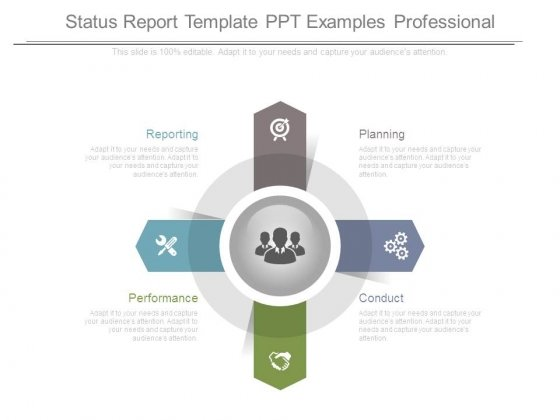 status report template ppt examples professional powerpoint templates