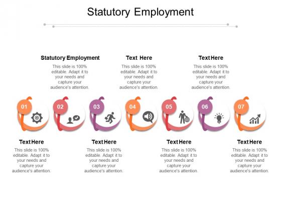 Statutory Employment Ppt PowerPoint Presentation Summary Designs Download Cpb Pdf