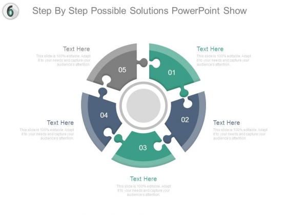 Step By Step Possible Solutions Powerpoint Show