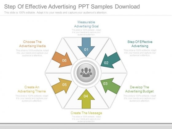Step Of Effective Advertising Ppt Samples Download