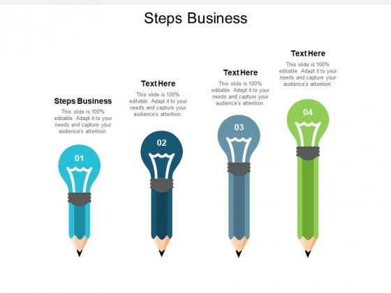 Steps Business Ppt PowerPoint Presentation Gallery Samples Cpb