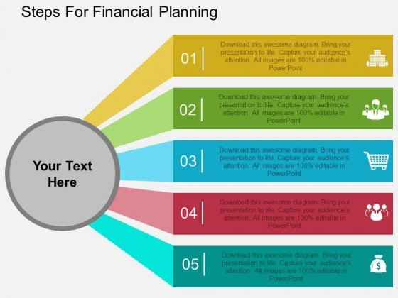 Steps For Financial Planning Powerpoint Templates  Powerpoint