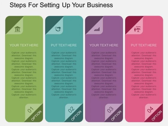 Steps For Setting Up Your Business Powerpoint Template