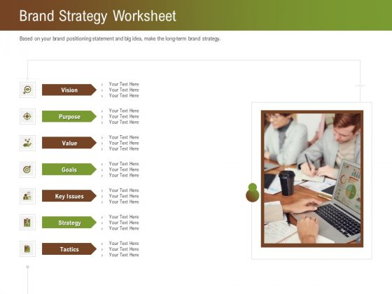 Steps For Successful Brand Building Process Brand Strategy Worksheet Introduction PDF
