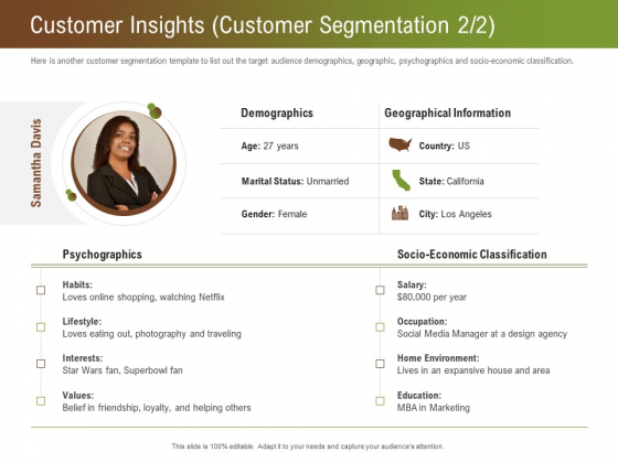 Steps For Successful Brand Building Process Customer Insights Customer Segmentation State Clipart PDF