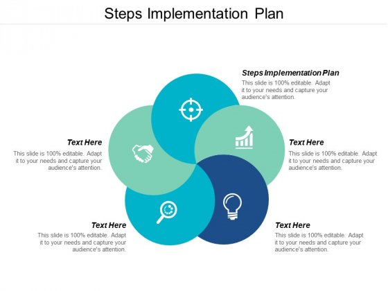 Steps Implementation Plan Ppt PowerPoint Presentation Icon Example Introduction Cpb