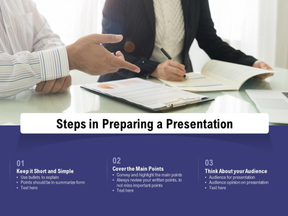 Steps In Preparing A Presentation Ppt PowerPoint Presentation Inspiration Introduction