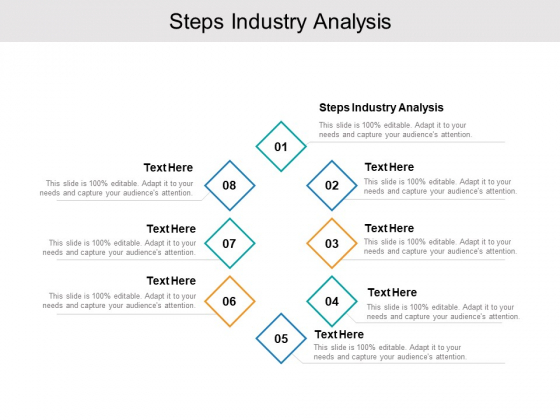 Steps Industry Analysis Ppt PowerPoint Presentation Layouts Graphics Example Cpb Pdf
