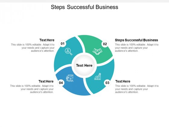 Steps Successful Business Ppt PowerPoint Presentation Gallery Portrait Cpb
