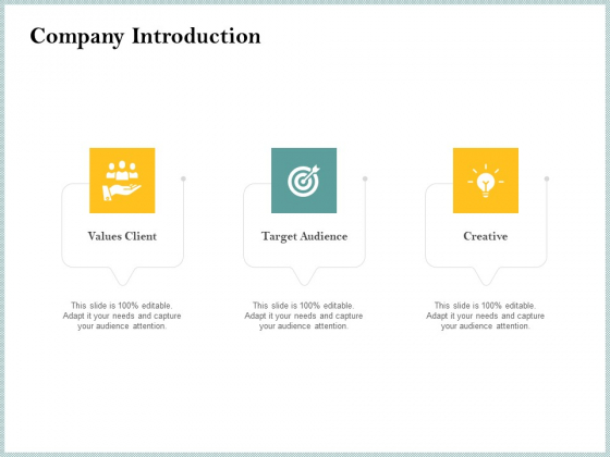 Steps To Create Ultimate Client Experience Company Introduction Topics PDF
