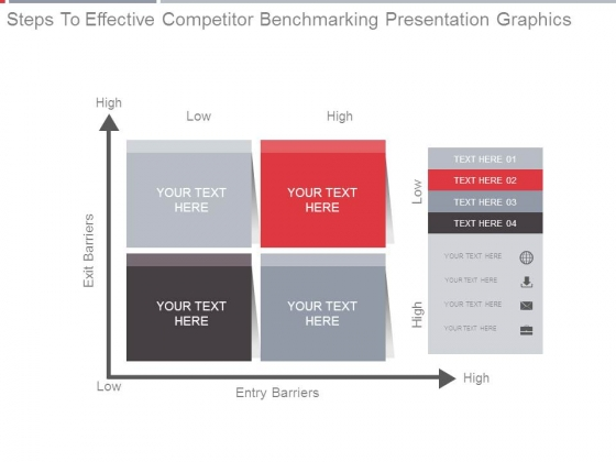 Steps To Effective Competitor Benchmarking Presentation Graphics