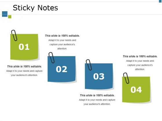 Sticky Notes Ppt PowerPoint Presentation Icon Good
