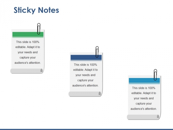 sticky notes powerpoint templates, slides and graphics, Powerpoint Notes Template, Powerpoint templates