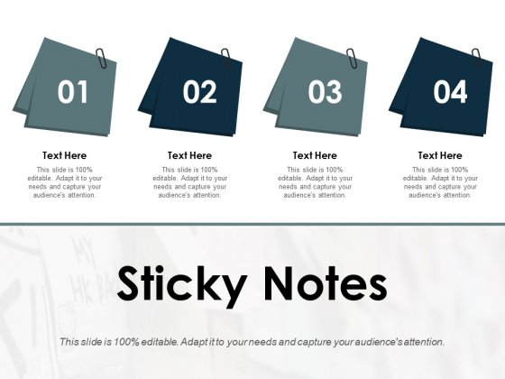 Sticky Notes Ppt PowerPoint Presentation Pictures Introduction