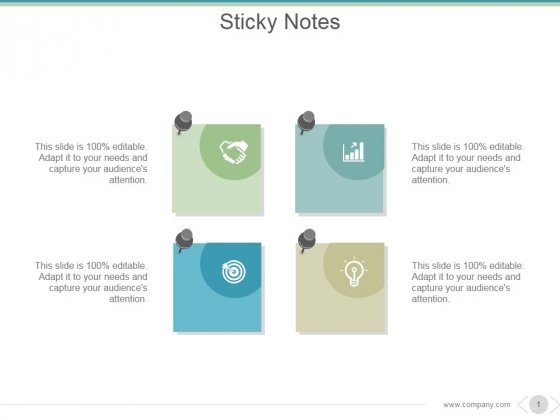 Sticky Notes Ppt PowerPoint Presentation Samples