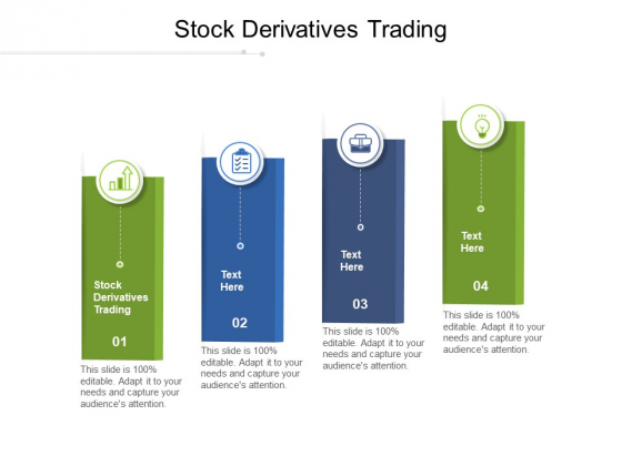Stock Derivatives Trading Ppt PowerPoint Presentation Show Visual Aids Cpb Pdf