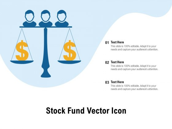 Stock Fund Vector Icon Ppt PowerPoint Presentation Inspiration Pictures